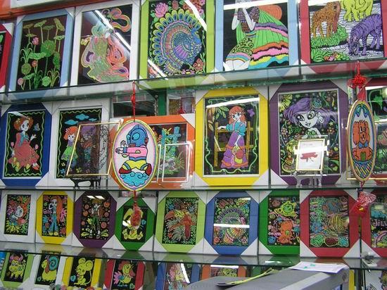 幻彩中国结,透光彩绘画,透光彩绘风铃,珍珠画,彩珠画,水彩植绒画,水