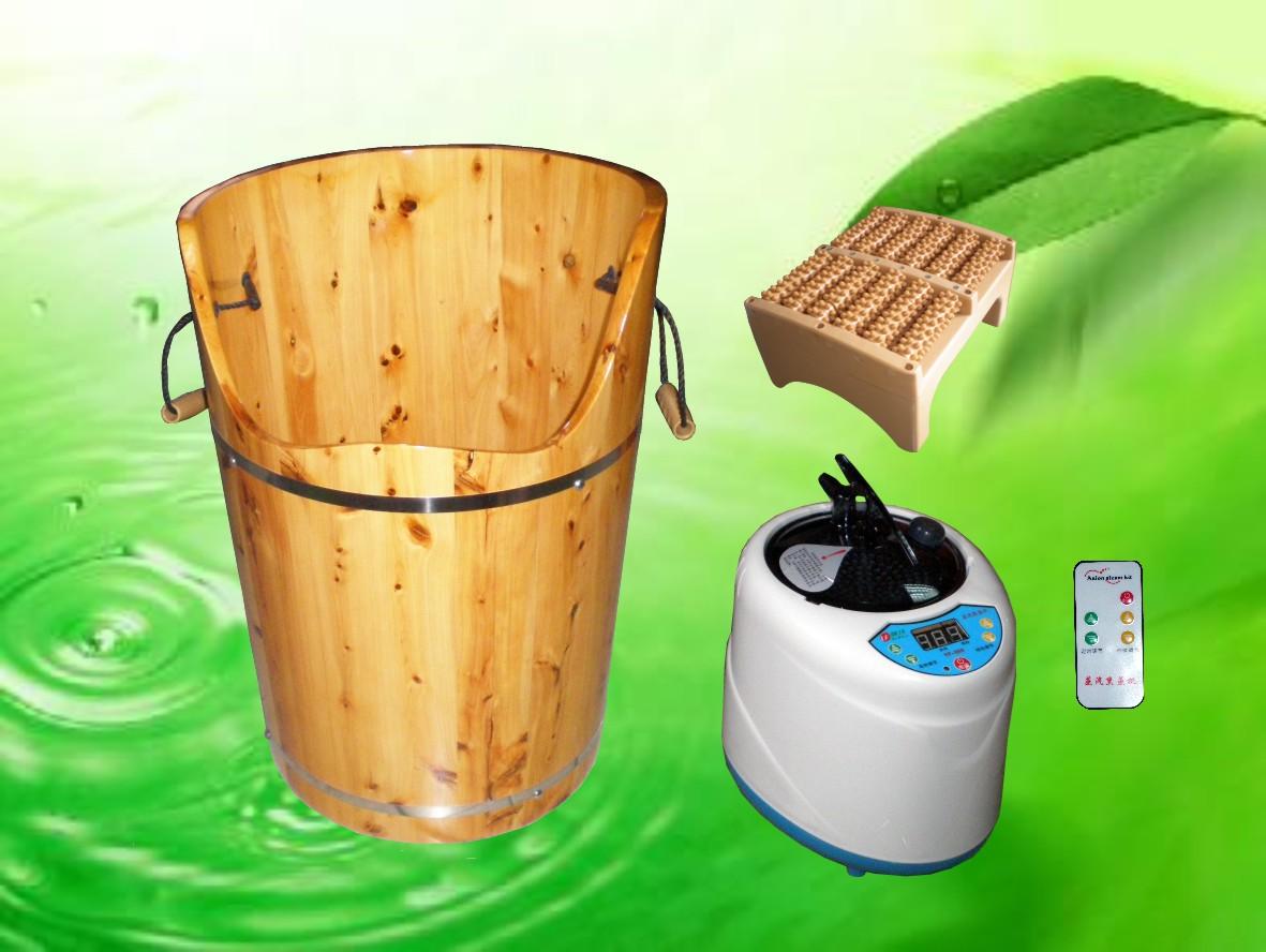 配合木桶使用,能促进脚部及身体血液循环改善足部痛