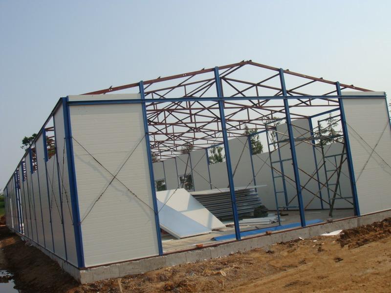活动房其实这种就是轻钢结构