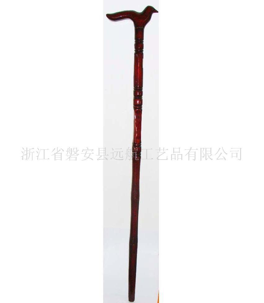 竹木工艺品拐杖