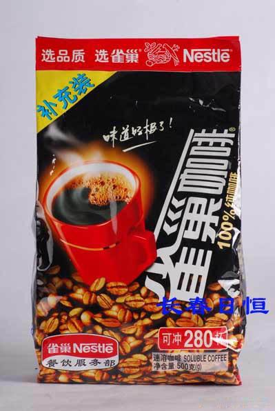 雀巢纯咖啡500克装