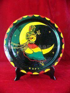 彝族特色漆器工艺品-摆件