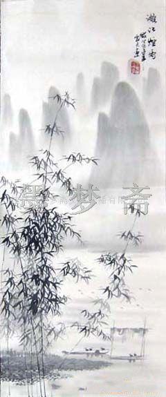 字画,国画,书画--三尺李云天精美桂林山水