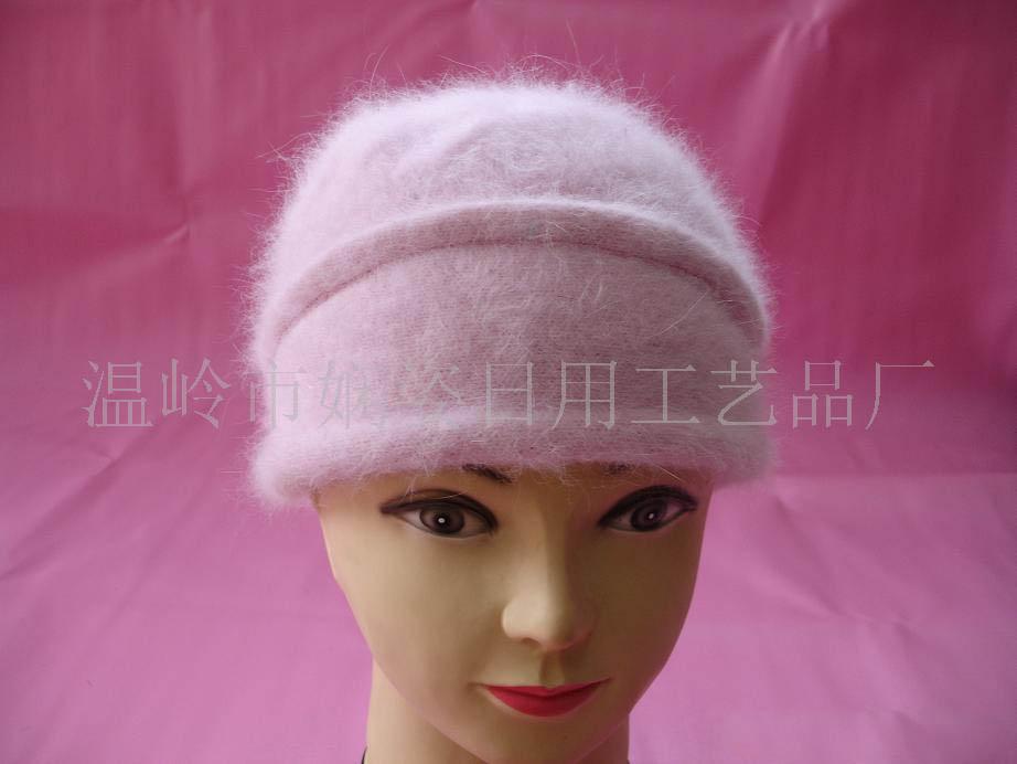 兔毛时装帽子