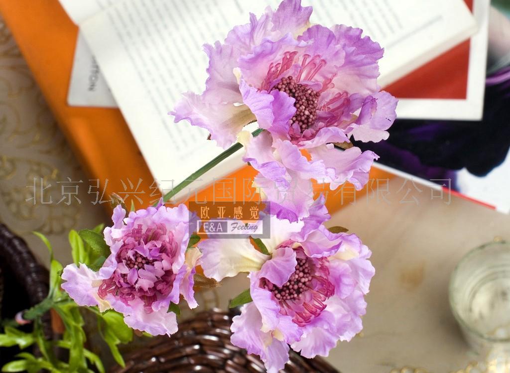 外贸仿真花,人造花,绢花,插花