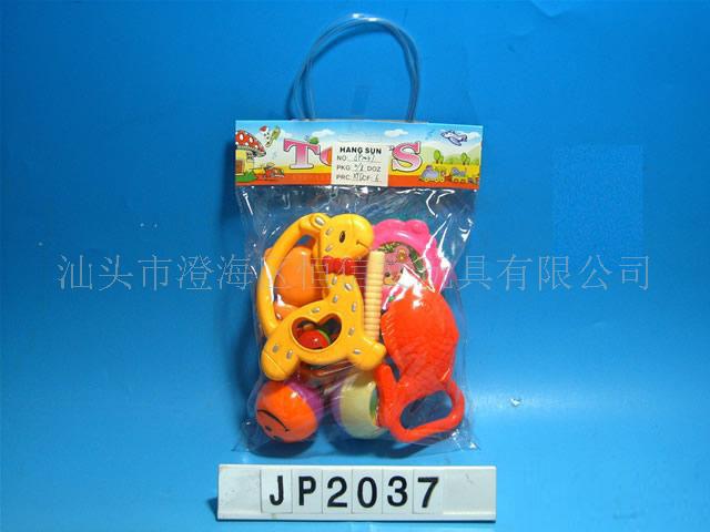 婴儿玩具组合袋铃