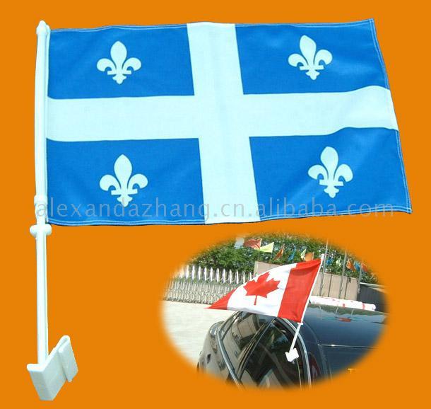 加拿大,魁北克车窗旗
