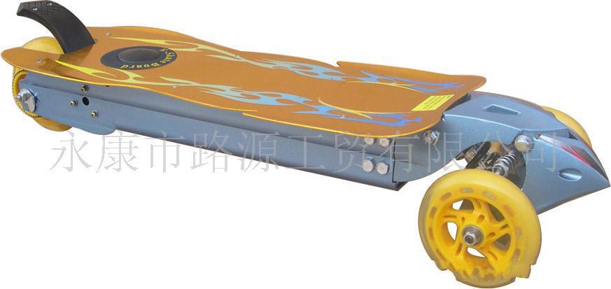 全铝电动滑板车,Skateboard,滑板,蝴