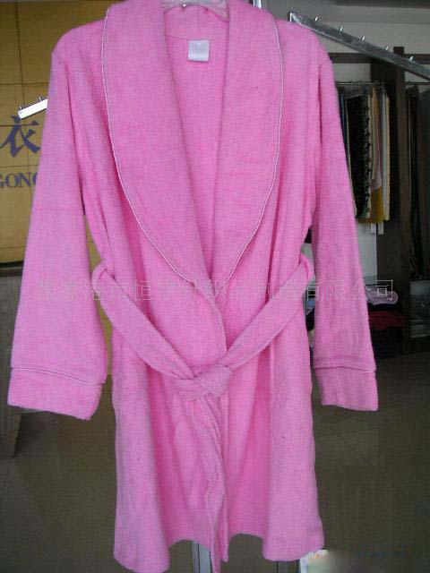 毛巾布浴衣