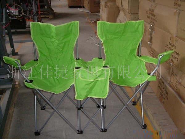 双人扶手沙滩椅