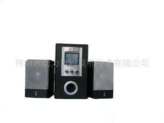动力先锋2.1/DL-101F全木质音箱