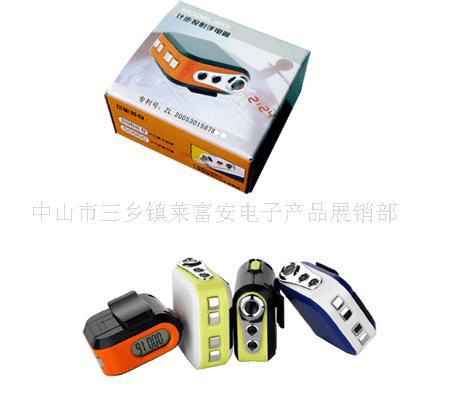 计步器投影钟,计步器,运动用品,电子产品