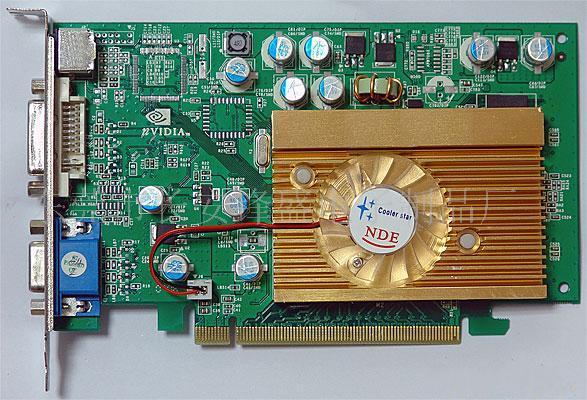 东方神鹿显卡7300GS/256M/64B显卡