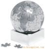 金属磁性拼图地球仪