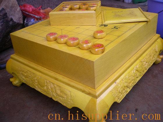 木制工艺品 榧木棋盘