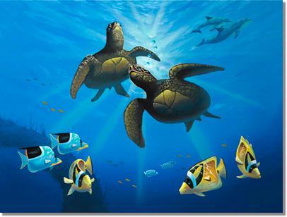 海底世界壁画