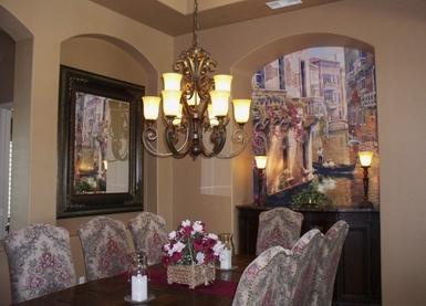 餐厅壁画_餐厅壁画图片大全_餐厅客厅中式壁画大全