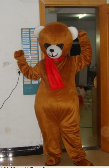 迪士尼卡通服装/演出卡通服饰/福建百乐毛绒卡通服装棕熊