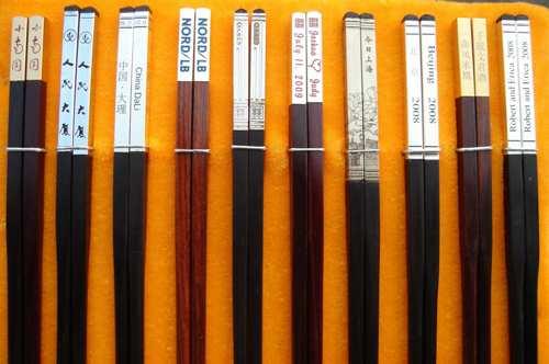 筷子艺术品步骤图解