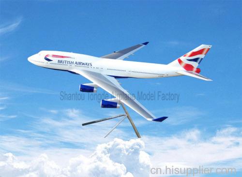 英国航空飞机模型
