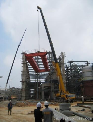 桥梁工程建筑安装,钢结构