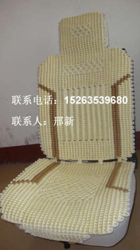 手工编织汽车坐垫