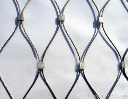 不锈钢绳网(编织网)