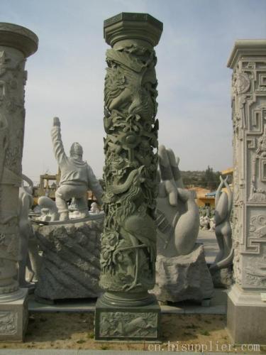 【石雕·龍柱】石雕龍柱