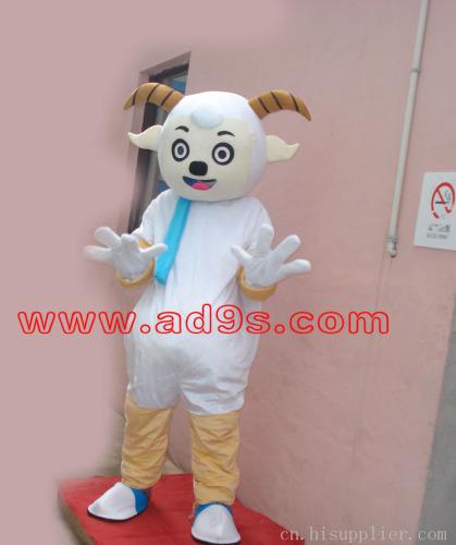 喜羊羊,美羊羊卡通人偶表演道具服装