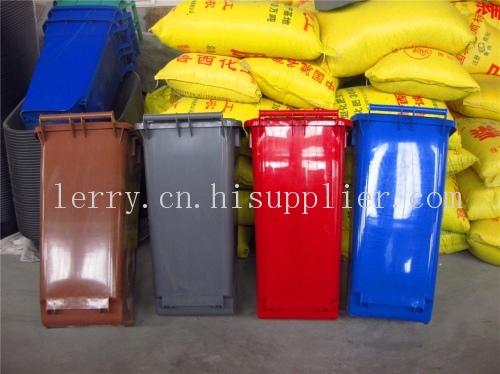 主要生产塑料环卫垃圾桶