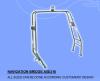 不锈钢316游艇导航灯支架