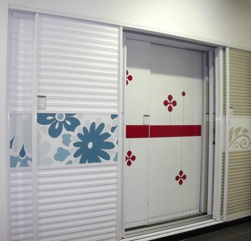 铝镁钛合金衣柜/壁柜/ 推拉  门 / 隔断  门; 壁柜衣柜推拉门; 实体店