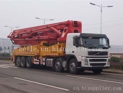 建筑机械 混凝土泵车图片
