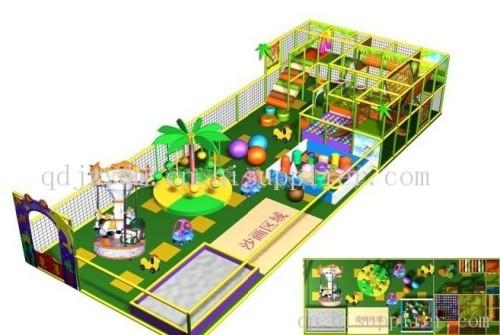 青岛儿童淘气堡,高档游乐园,软体积木,旋转木马