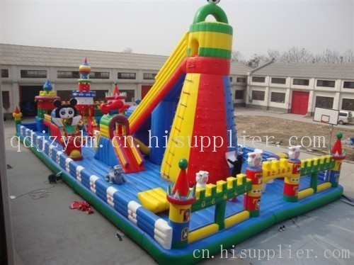 儿童充气城堡,青岛迪尼斯乐园,快乐宝贝