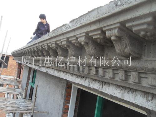 龙岩屋檐线现浇模具供应图片