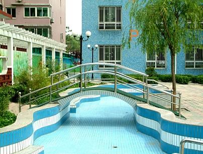 国际幼儿园游泳池效果图图片