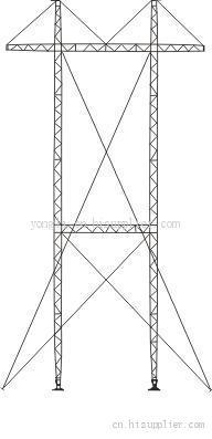 铝合金抢修塔(格构式)