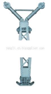 铝合金格构式内悬浮抱杆