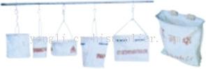 高空吊袋和撑口式腰带工具袋
