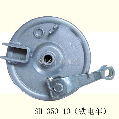 盘式制动器:盘式制动器又称为碟式制动器,顾名思义是取其形状而得名.图片