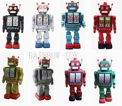 复古铁皮机器人
