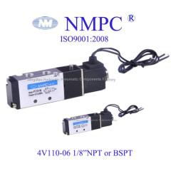 4V110-06 五通电磁阀