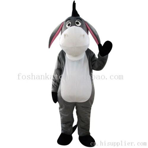 灰驴卡通人偶动物扮演服舞台表演服道具服卡通宣传服
