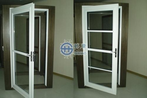 欧式玻璃平开门