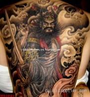 石家庄市 钟馗纹身