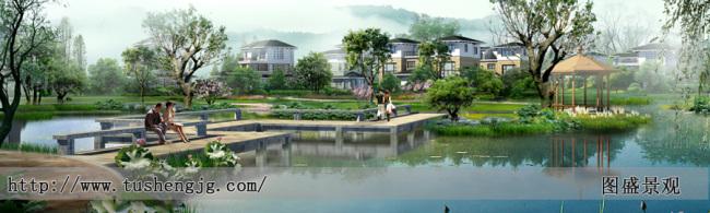 广场景观设计效果图,别墅庭院景观设计效果图,小区景观设计效果图