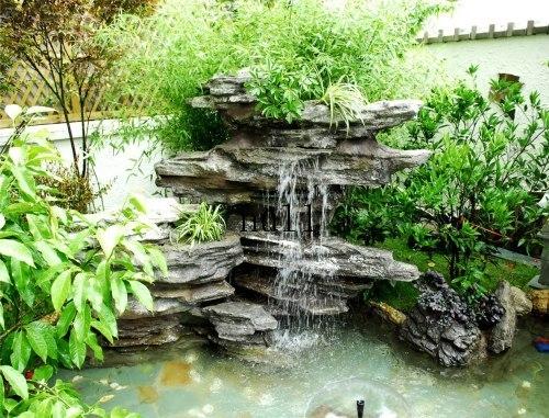 别墅庭院装修,别墅花园景观设计