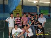 ★2011年10月22日羽毛球比赛。