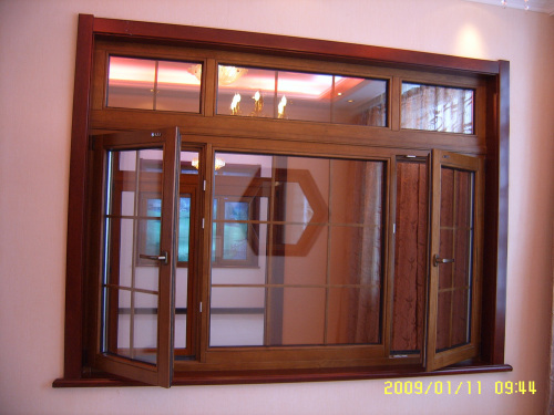 贝博主页别墅铝木门窗